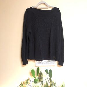 Tommy Hilfiger Size XL Black Sweater